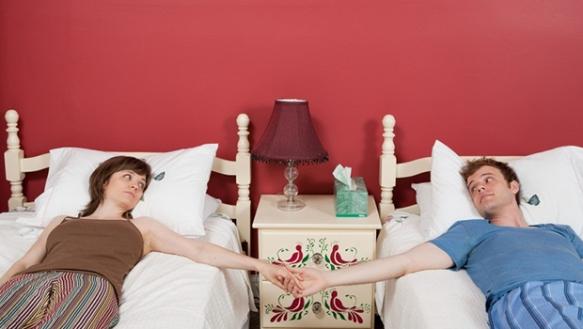 camas en camas separadas. Fuente:http://entremujeres.clarin.com/
