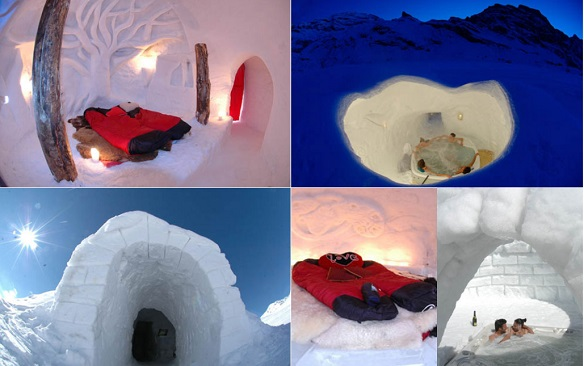 lugares originales donde dormir