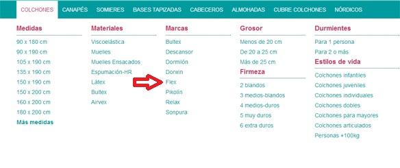 colchones Flex en Canarias