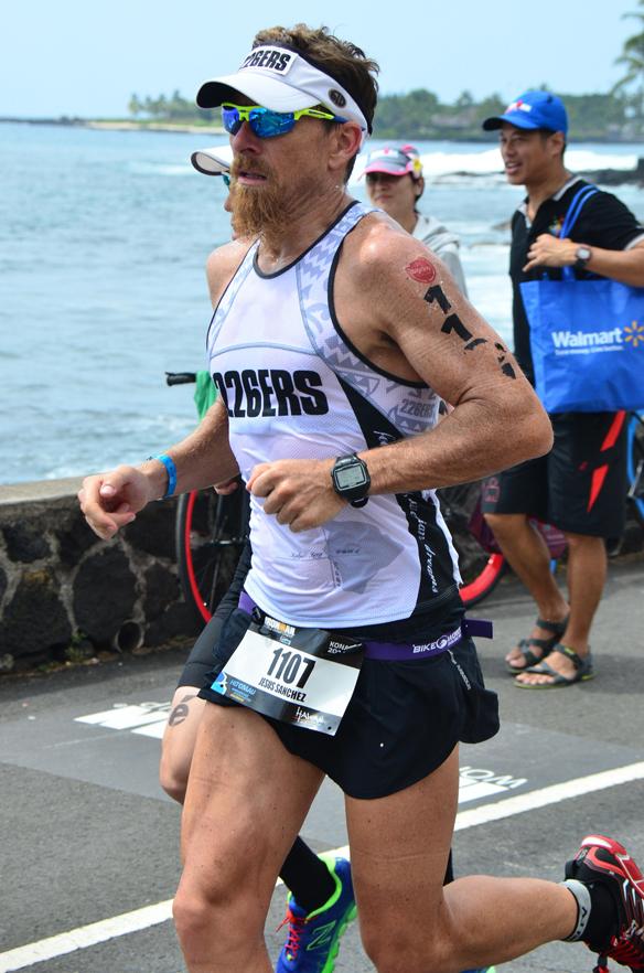 triatleta Jesús Sánchez Bas