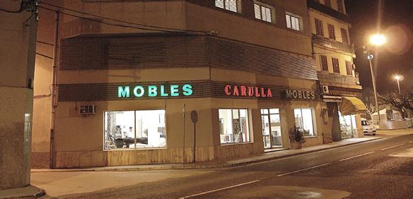 Mobles Carulla distribuidor de Colchones.es en Lleida