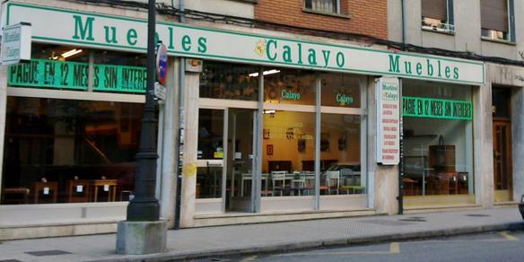 Muebles Calayo de la Avda del Mar. Oviedo