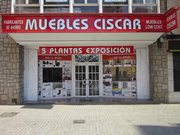 Muebles Ciscar, distribuidor de Colchones.es en Valencia