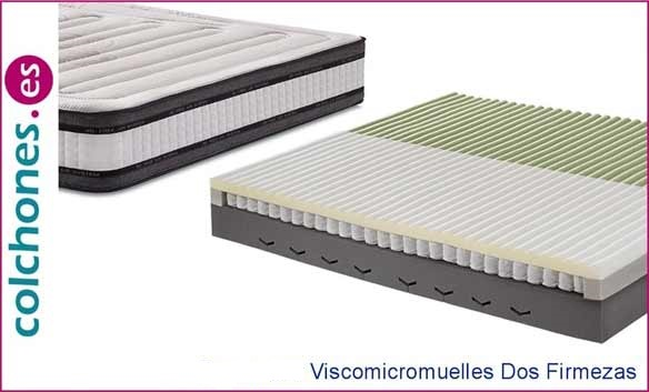 viscoelástica y micromuelles