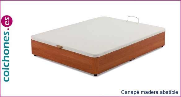 Canapé de madera