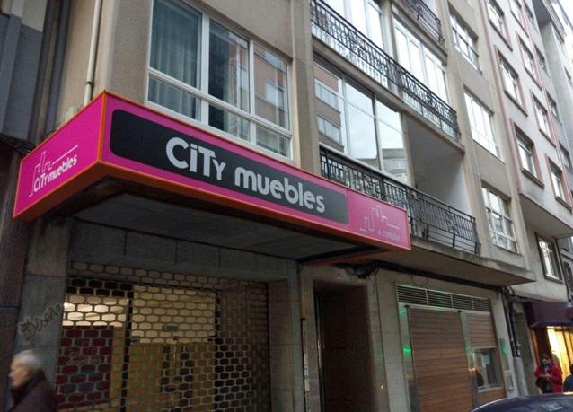 entrada muebles City La Coruña