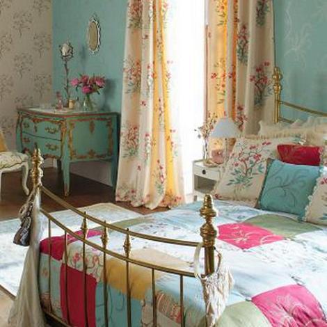 Estilo vintage en dormitorios
