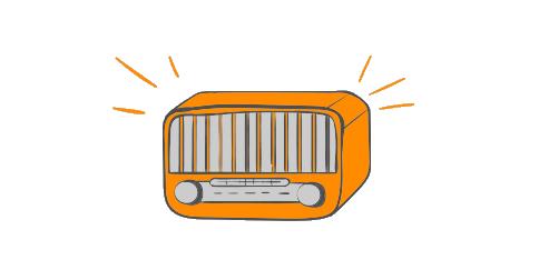 Escuchar la radio mientras dormimos