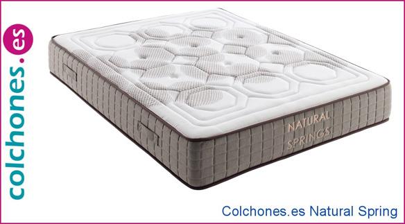 colchón Natural Spring Colchones.es