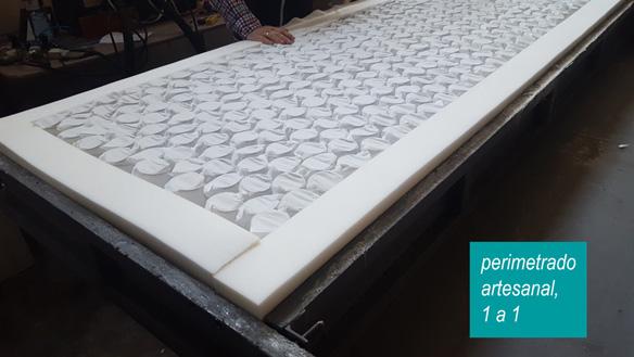 proceso de fabricación del colchón Natural Springs