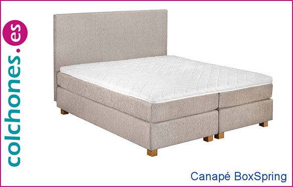 Canapé BoxSpring de Colchones.es