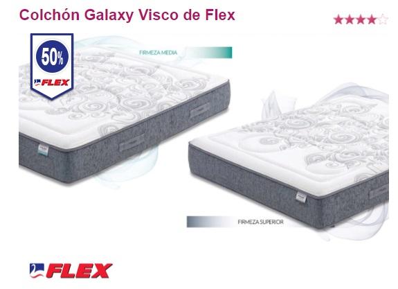 Oferta colchones Flex: Galaxy Visco