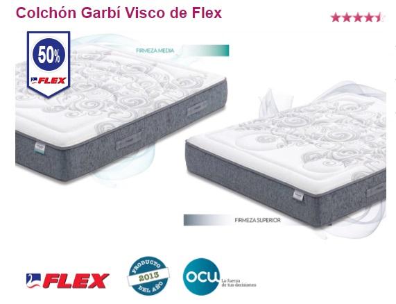 Oferta colchones Flex: Garbí Visco