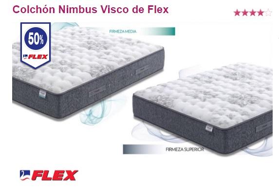 Oferta colchones Flex: Nimbus Visco