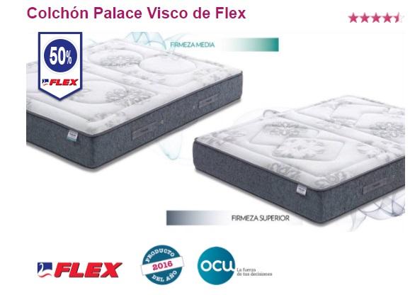 Oferta Colchones Flex: Palace Visco