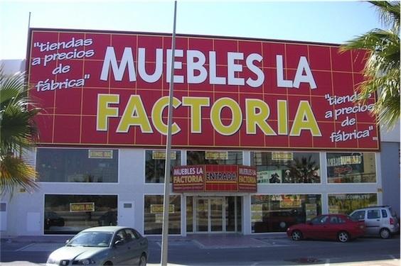Tienda de colchones en Alicante Muebles La Factoría