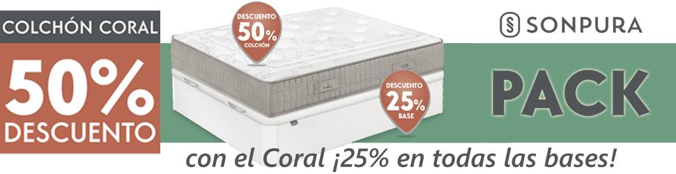 descuento colchón Coral