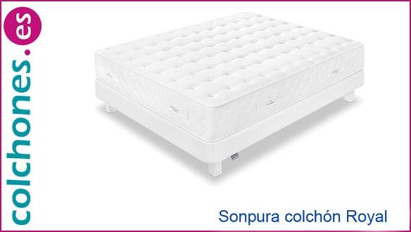 Nuevo colchón Royal de Sonpura