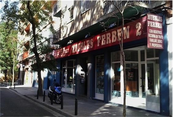 Tienda de colchones en Zaragoza Muebles Ferben