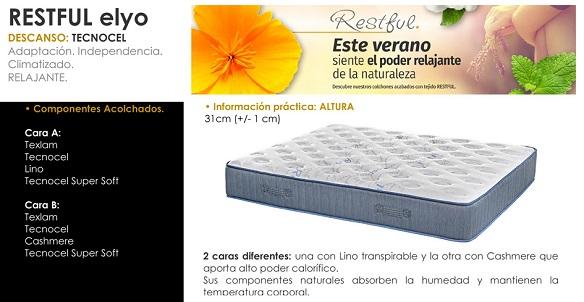 Promoción colchones Relax Restful