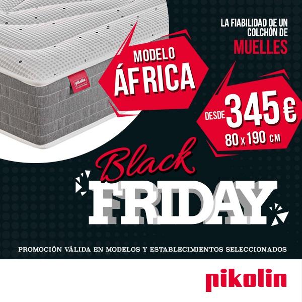 Colchón África, al mejor precio con el Black-Friday Pikolin