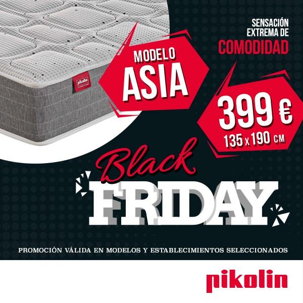 Colchón Asia en Promoción Black Friday y Cyber Monday Pikolin