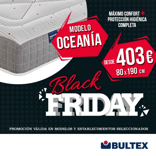 Promoción Black Friday Bultex