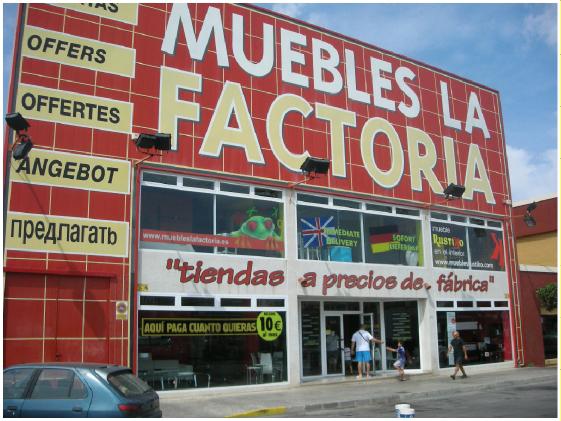 Tienda de colchones en Torrevieja (Alicante): Muebles La Factoría