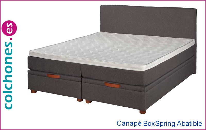 Canapé Boxspring abatible