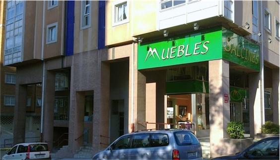 Tienda de colchones en A Coruña Muebles Salcines
