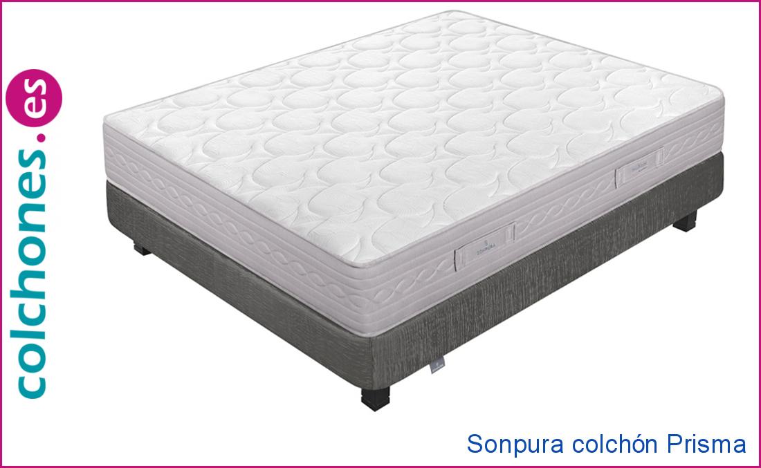 El colchón Prisma 2019, el colchón más barato de Sonpura