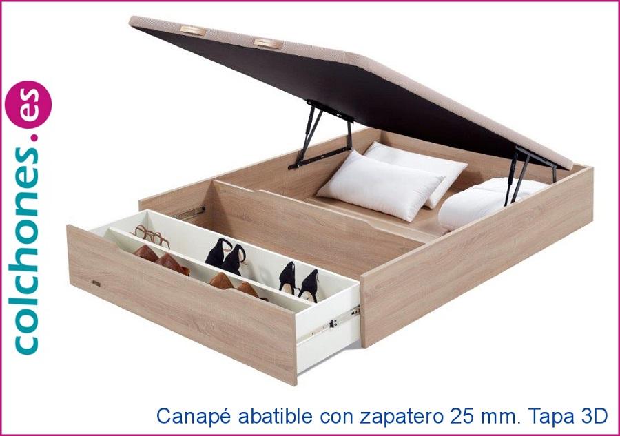Canapé de Flex con zapatero
