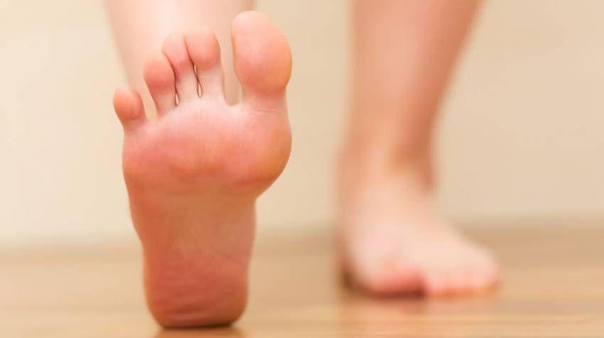 descansar los pies