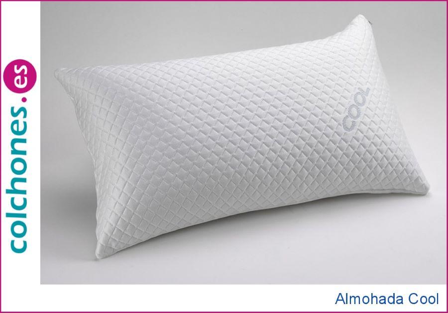Almohada de textil fresco para dormir sin calor