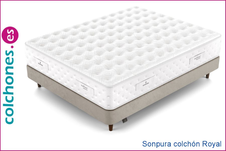 colchón ecológico gama alta Royal Sonpura