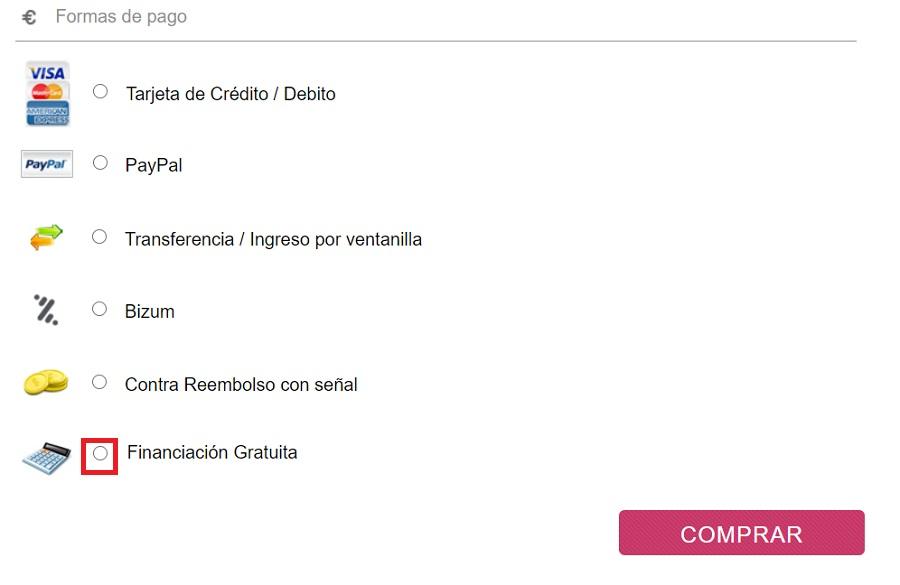 Financiación gratuita Sabadell Instant Credit