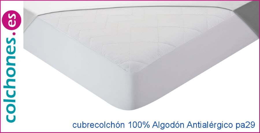 Cubrecolchón 100% Algodón Antialérgico de Pikolin home