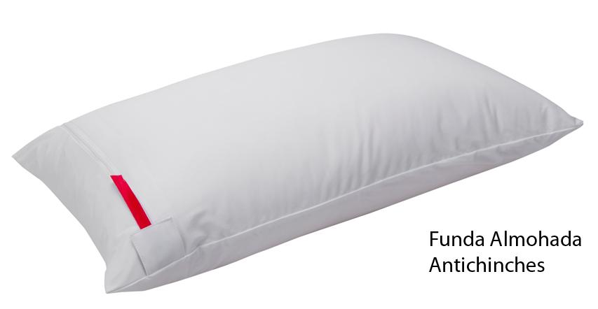 almohada anti chinches