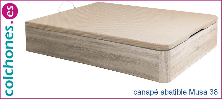 canapé madera abatible Musa 38