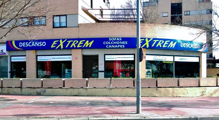 Descanso Extrem (Colchonería Muebles Los Pacos)