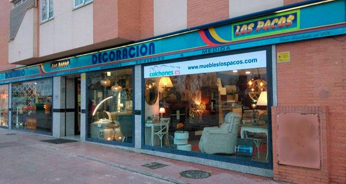 Fachada muebles-los-pacos-alcala-de-henares-unamuno