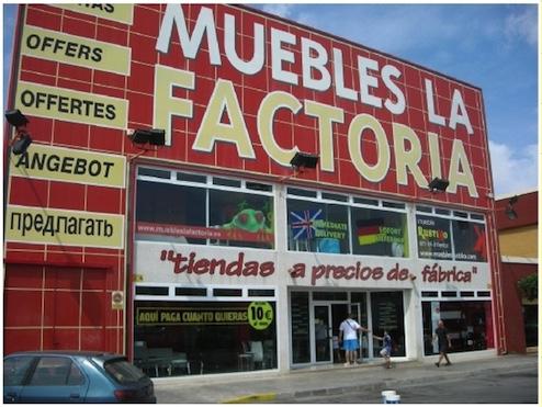 Muebles La Factoría - Torrevieja