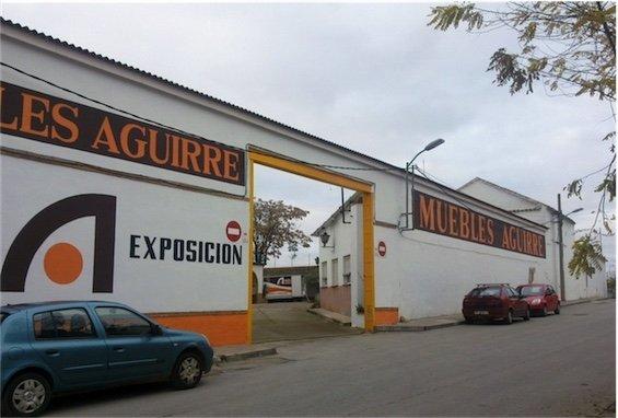 Fachada muebles-aguirre-daimiel-buero